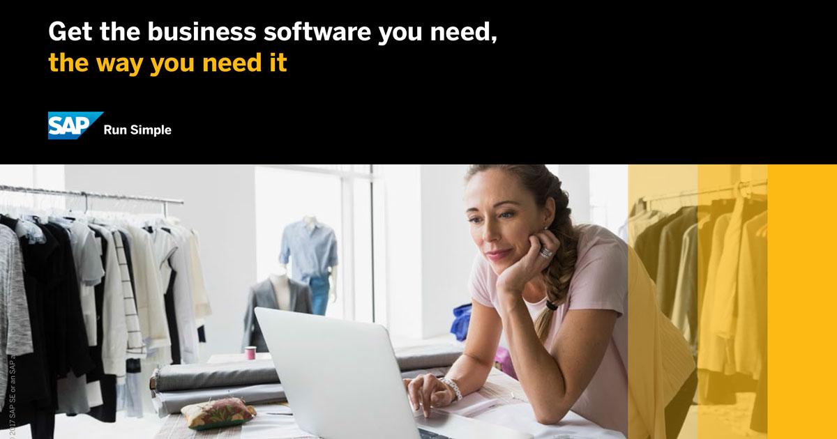 Promuovi la crescita economica del business del tuo Negozio o PMI con SAP Business One Cloud